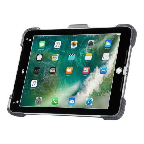 Targus SafePORT Rugged - Protective case for tablet - rugged - thermoplastic polyurethane (TPU) - 9.7&uot; - for Apple 9.7-inch iPad (5th generation, 6th generation)