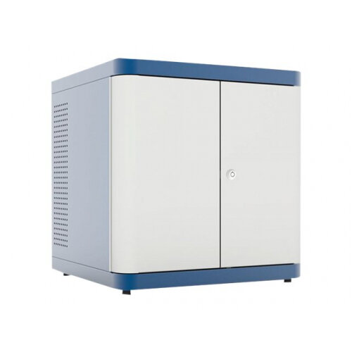 LapSafe ClassBuddy Desk 10 - Cabinet unit for 10 tablets - lockable - blue - desktop stand