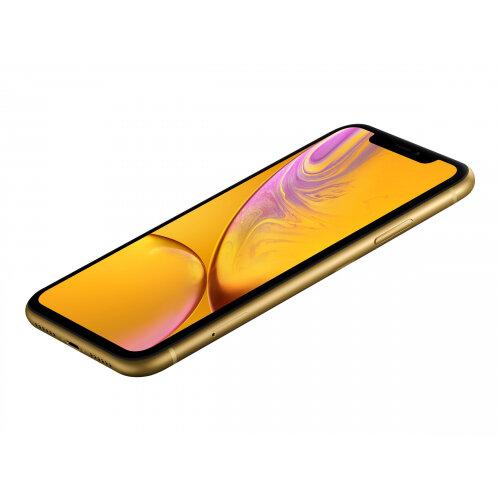 Apple iPhone XR - Smartphone - dual-SIM - 4G LTE Advanced - 64 GB - GSM - 6.1&uot; - 1792 x 828 pixels (326 ppi) - Liquid Retina HD display - 12 MP (7 MP front camera) - yellow