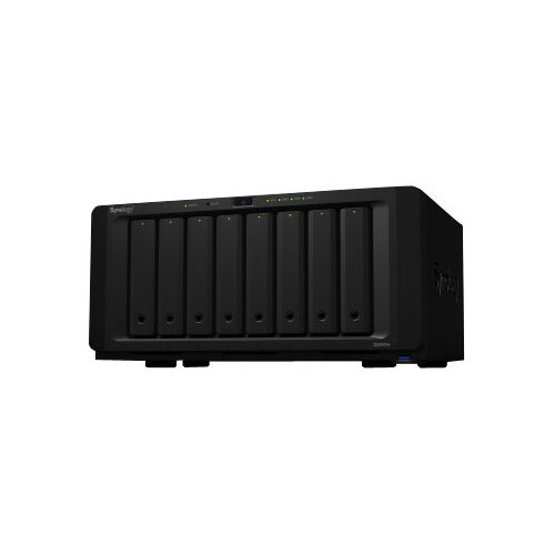Synology Disk Station DS1819+ - NAS server - 8 bays - SATA 6Gb/s - RAID 0, 1, 5, 6, 10, JBOD - RAM 4 GB - Gigabit Ethernet - iSCSI