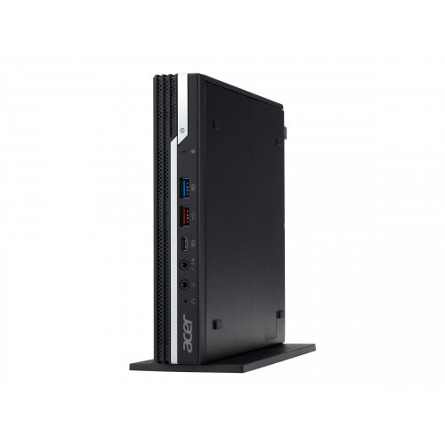 Acer Veriton VN4660G - Compact PC - 1 x Core i3 8100T / 3.1 GHz - RAM 4 GB - SSD 128 GB - UHD Graphics 630 - GigE, 802.11ac Wave 2, Bluetooth 5.0 - WLAN: 802.11a/b/g/n/ac Wave 2, Bluetooth 5.0 - Win 10 Pro 64-bit - monitor: none
