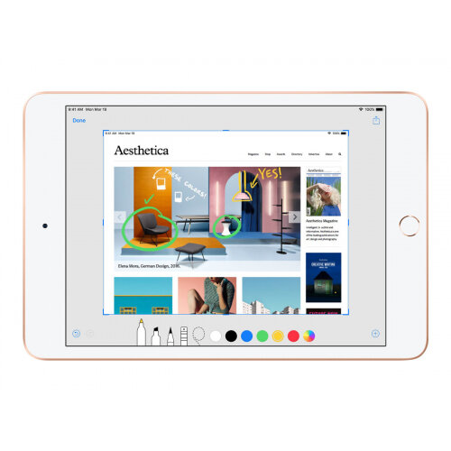 Apple 10.5-inch iPad Air Wi-Fi - 3rd generation - tablet - 256 GB - 10.5&uot; IPS (2224 x 1668) - gold