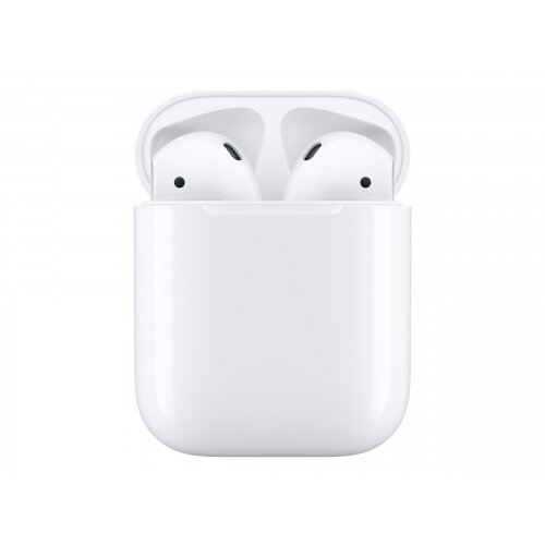 Apple AirPods with Charging Case - 2nd Generation - true wireless earphones with mic - ear-bud - Bluetooth