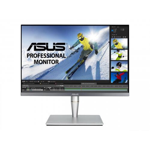 ASUS ProArt PA24AC - LCD monitor - 24.1&uot; - 1920 x 1200 WUXGA - IPS - 400 cd/m&up2; - 1000:1 - 5 ms - 2xHDMI, DisplayPort, USB-C - speakers - grey