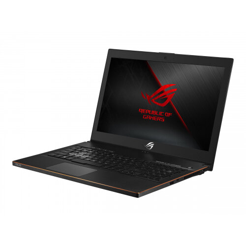 ASUS ROG Zephyrus M GU502GV-ES004T - Core i7 9750H / 2.6 GHz - Windows 10 Home - 16 GB RAM - 512 GB SSD NVMe - 15.6&uot; IPS 1920 x 1080 (Full HD) - GF RTX 2060 - 802.11ac - black metal
