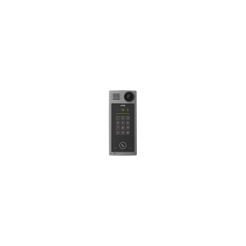AXIS A8207-VE Network Video Door Station - Network surveillance camera - colour (Day∓Night) - 6 MP - 3072 x 2048 - fixed iris - fixed focal - audio - LAN 10/100 - MPEG-4, MJPEG, H.264, AVC - DC 24 V / PoE