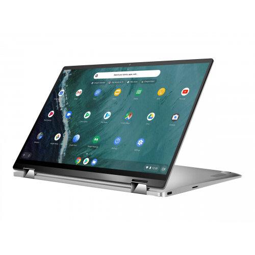 ASUS Chromebook Flip C434TA AI0109 - Flip design - Core i5 8200Y / 1.3 GHz - Chrome OS - 8 GB RAM - 64 GB eMMC - 14&uot; touchscreen 1920 x 1080 (Full HD) - UHD Graphics 615 - 802.11ac - spangle silver