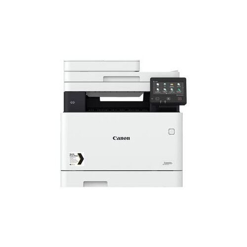Canon i-SENSYS MF742Cdw - Multifunction printer - colour - laser - A4 (210 x 297 mm), Legal (216 x 356 mm) (original) - A4/Legal (media) - up to 27 ppm (copying) - up to 27 ppm (printing) - 300 sheets - USB 2.0, Gigabit LAN, Wi-Fi(n), USB host