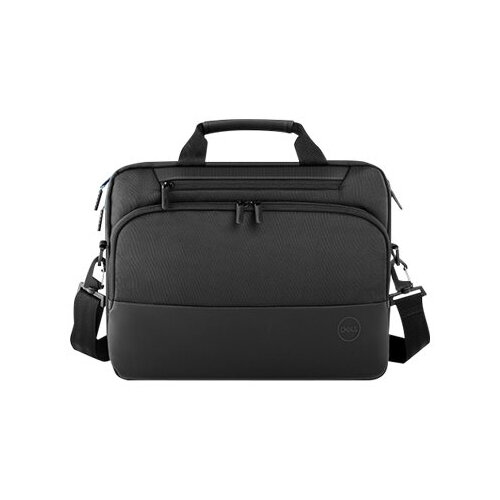 Dell Premier Briefcase 15 - Notebook carrying case - 15&uot; - black with metal logo