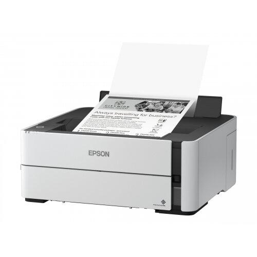 Epson EcoTank ET-M1140 - Printer - monochrome - Duplex - ink-jet - A4 - 1200 x 2400 dpi - up to 20 ppm - capacity: 250 sheets - USB 2.0
