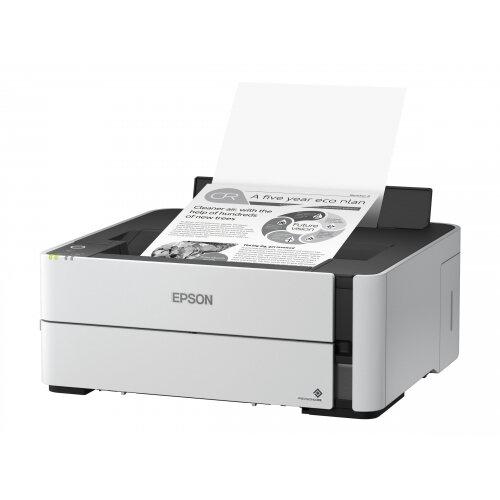 Epson EcoTank ET-M1180 - Printer - monochrome - Duplex - ink-jet - A4/Legal - 1200 x 2400 dpi - up to 39 ppm - capacity: 250 sheets - USB 2.0, LAN