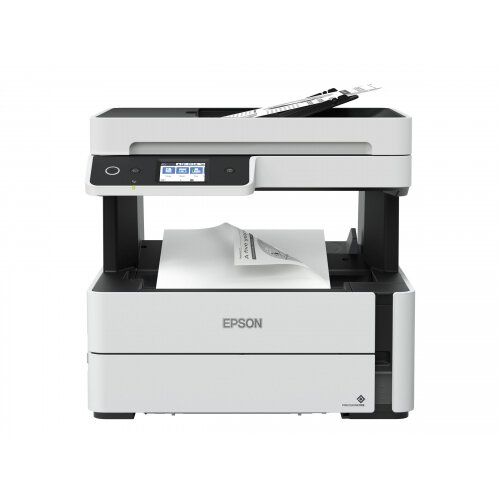 Epson EcoTank ET-M3140 - Multifunction printer - B/W - ink-jet - A4/Legal (media) - up to 17 ppm (copying) - up to 39 ppm (printing) - 250 sheets - 33.6 Kbps - USB 2.0