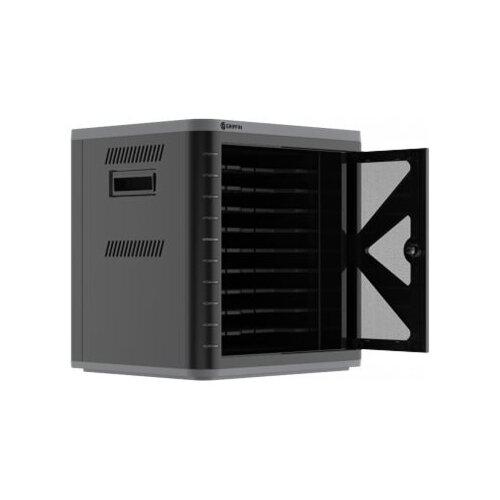 Griffin Multidock 3 - Cabinet unit for 10 tablets/mobile phones - lockable - black - output: 5 V