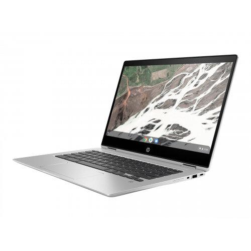 HP Chromebook x360 14 G1 - Flip design - Core i7 8650U / 1.9 GHz - Google Chrome OS 64 - 16 GB RAM - 64 GB eMMC - 14&uot; IPS touchscreen 1920 x 1080 (Full HD) - UHD Graphics 620 - Wi-Fi, Bluetooth - sleek metal - kbd: UK