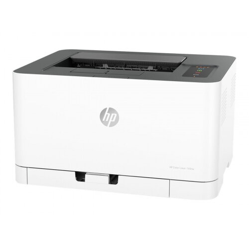 HP Color Laser 150nw - Printer - colour - laser - A4/Legal - 600 x 600 dpi - up to 18 ppm (mono) / up to 4 ppm (colour) - capacity: 150 sheets - USB 2.0, LAN, Wi-Fi(n)