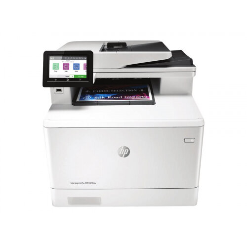 HP Color LaserJet Pro MFP M479fdw - Multifunction printer - colour - laser - Legal (216 x 356 mm) (original) - A4/Legal (media) - up to 27 ppm (copying) - up to 27 ppm (printing) - 300 sheets - 33.6 Kbps - USB 2.0, LAN, Wi-Fi(n), USB host