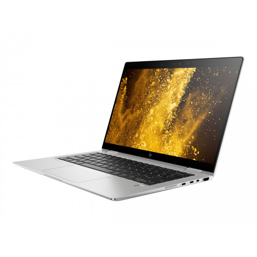 HP EliteBook x360 1030 G3 - Flip design - Core i5 8350U / 1.7 GHz - Win 10 Pro 64-bit - 8 GB RAM - 256 GB SSD NVMe - 13.3&uot; IPS touchscreen 1920 x 1080 (Full HD) - UHD Graphics 620 - Wi-Fi, Bluetooth - kbd: UK