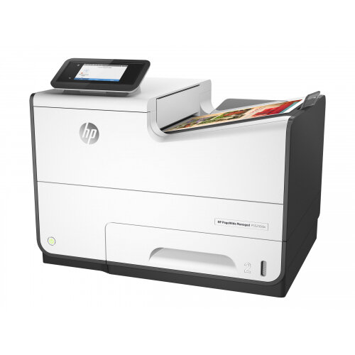 HP PageWide Managed P55250dw - Printer - colour - Duplex - page wide array - A4/Legal - 1200 x 1200 dpi - up to 75 ppm (mono) / up to 75 ppm (colour) - capacity: 500 sheets - USB 2.0, LAN, Wi-Fi(n), USB 2.0 host