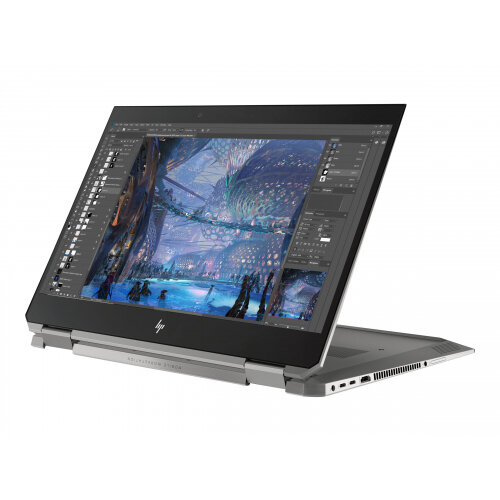 HP ZBook Studio x360 G5 Mobile Workstation - Flip design - Core i7 8750H / 2.2 GHz - Win 10 Pro 64-bit - 16 GB RAM - 512 GB SSD NVMe, TLC - 15.6&uot; IPS touchscreen 3840 x 2160 (Ultra HD 4K) - Quadro P1000 / UHD Graphics 630 - Wi-Fi, NFC, Bluetooth - kb