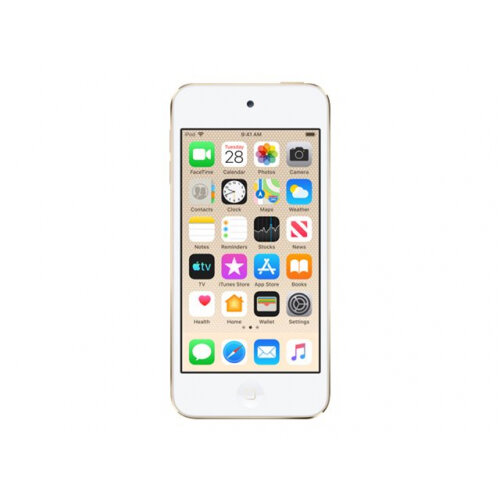 Apple iPod touch - 7th generation - digital player - Apple iOS 12 - 128 GB - gold