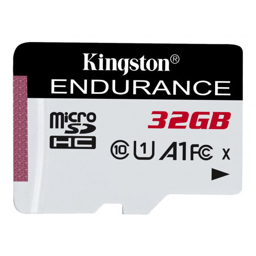 Kingston High Endurance - Flash memory card - 32 GB - A1 / UHS-I U1 / Class10 - microSDHC UHS-I