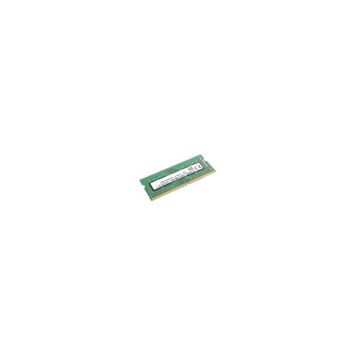 Lenovo - DDR4 - 8 GB - SO-DIMM 260-pin - 2666 MHz / PC4-21300 - 1.2 V - unbuffered - non-ECC - for ThinkCentre M715; M920q; M920x; M920z; ThinkPad P1; P52; P72; X1 Extreme; ThinkStation P330; V530-22; V530-24