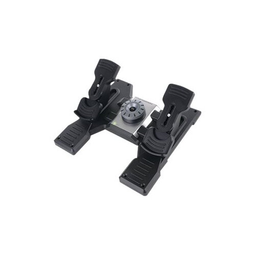 Logitech Flight Rudder Pedals - Pedals - wired - for PC