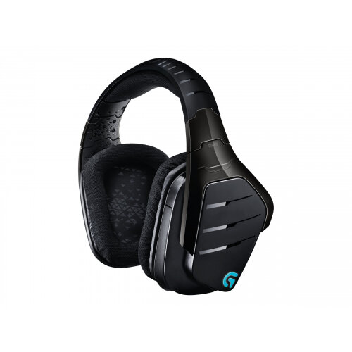 Logitech Gaming Headset G933 Artemis Spectrum - Headset system - 7.1 channel - full size - wireless - black