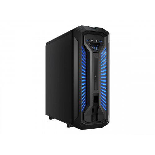 Medion ERAZER P64001 Gaming Desktop - Tower - 1 x Core i5 8400 / 2.8 GHz - RAM 8 GB - HDD 1 TB - DVD-Writer - GF GTX 1050 Ti - GigE, Bluetooth 5.0 - WLAN: 802.11ac, Bluetooth 5.0 - Windows 10 Home - monitor: none
