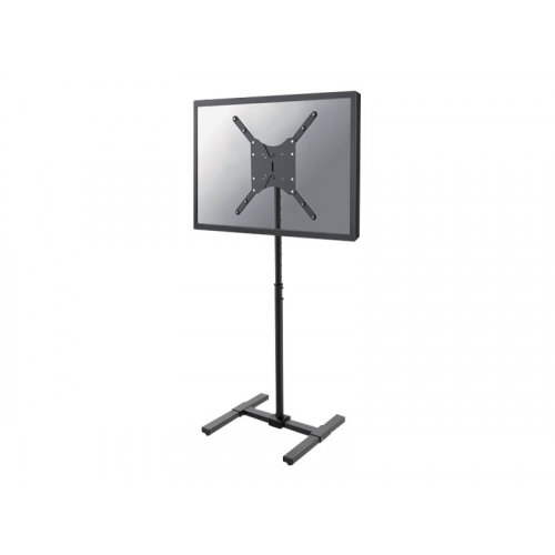 NewStar NS-FS100BLACK - Stand for LCD display - black - screen size: 22&uot;-42&uot; - mounting interface: 400 x 400 mm - floor-standing