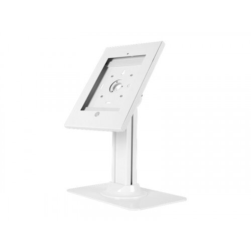 NewStar TABLET-D300WHITE - Stand for tablet - lockable - white - desktop - for Apple 9.7-inch iPad Pro; iPad; iPad 2; iPad Air; iPad Air 2; iPad with Retina display