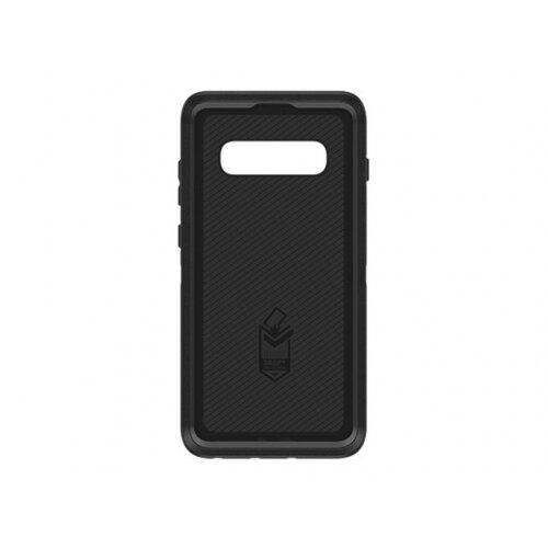 OtterBox Defender Series - Screenless Edition - back cover for mobile phone - rugged - polycarbonate, synthetic rubber - black - for Samsung Galaxy S10+