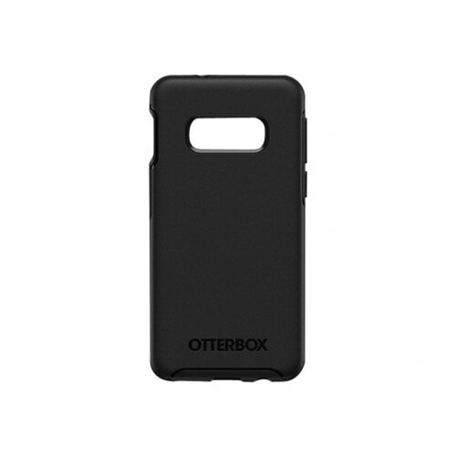 OtterBox Symmetry Series - Back cover for mobile phone - polycarbonate, synthetic rubber - black - for Samsung Galaxy S10e