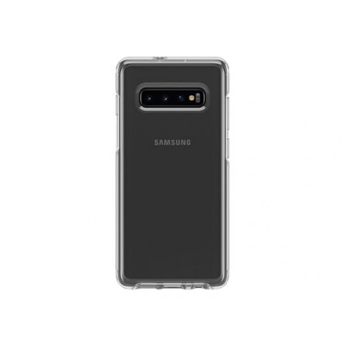 OtterBox Symmetry Series - Back cover for mobile phone - polycarbonate, synthetic rubber - clear - for Samsung Galaxy S10+