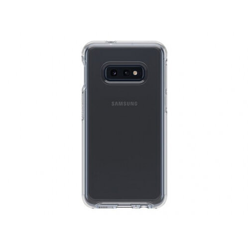 OtterBox Symmetry Series - Back cover for mobile phone - polycarbonate, synthetic rubber - clear - for Samsung Galaxy S10e