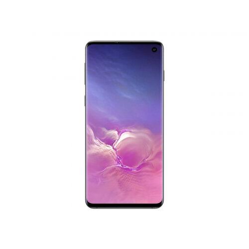 Samsung Galaxy S10 - Smartphone - dual-SIM - 4G Gigabit Class LTE - 128 GB - microSDXC slot - TD-SCDMA / UMTS / GSM - 6.1&uot; - 3040 x 1440 pixels (550 ppi) - Dynamic AMOLED - RAM 8 GB 10 Megapixel - 3x rear cameras - Android - prism black