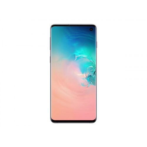 Samsung Galaxy S10 - Smartphone - dual-SIM - 4G Gigabit Class LTE - 512 GB - microSDXC slot - TD-SCDMA / UMTS / GSM - 6.1&uot; - 3040 x 1440 pixels (550 ppi) - Dynamic AMOLED - RAM 8 GB 10 Megapixel - 3x rear cameras - Android - prism white