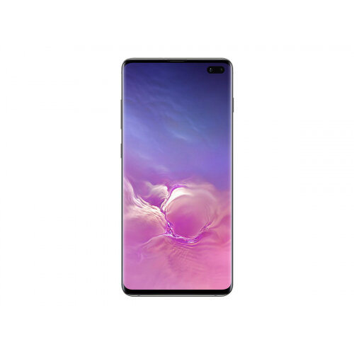 Samsung Galaxy S10+ - Smartphone - dual-SIM - 4G Gigabit Class LTE - 128 GB - microSDXC slot - TD-SCDMA / UMTS / GSM - 6.4&uot; - 3040 x 1440 pixels (522 ppi) - Dynamic AMOLED - RAM 8 GB - 3x rear cameras (2x front cameras) - Android - prism black