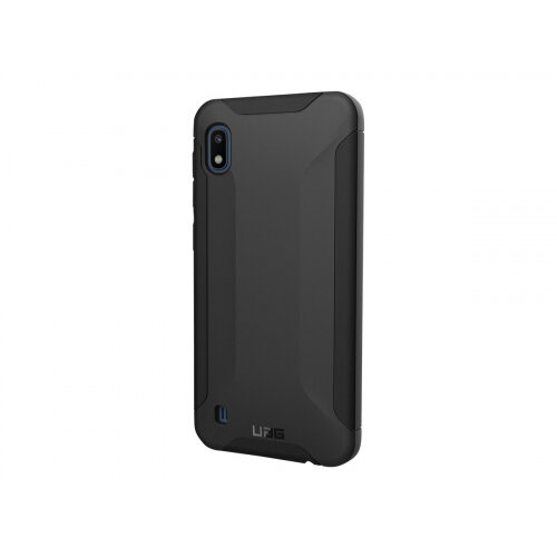 UAG Rugged Case for Samsung Galaxy A10 - Scout Black - Back cover for mobile phone - black - for Samsung Galaxy A10