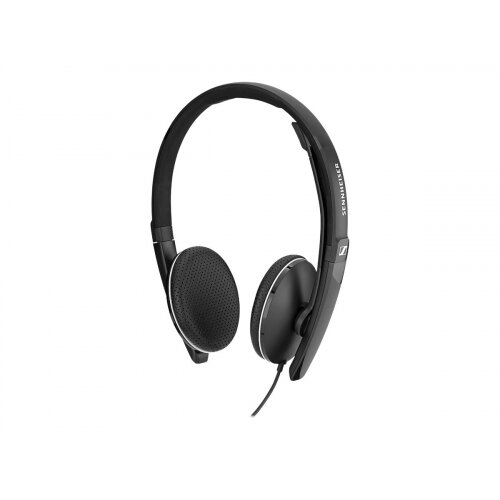 Sennheiser SC 165 - SC 100 series - headset - on-ear - wired - active noise cancelling - USB, 3.5 mm jack - black