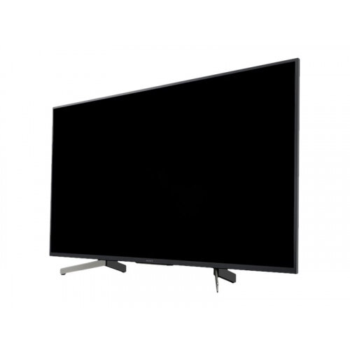 Sony FWD-49X80G - 49&uot; Class (48.5&uot; viewable) LED TV - digital signage - Smart TV - Android - 4K UHD (2160p) 3840 x 2160 - HDR - edge-lit - black