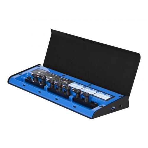 Targus USB Dual Video Docking Station with Power - Docking station - USB 3.0 - DVI, HDMI - GigE - with USB-C Multiplexer Adapter (ACA44EUZ)