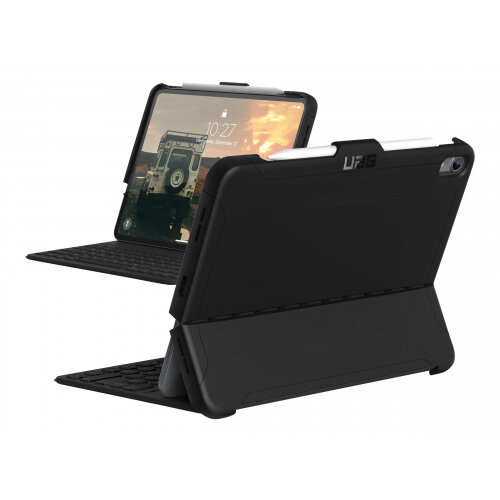 UAG Rugged Case for iPad Pro 11-inch - Scout Black - Back cover for tablet - black - for Apple 11-inch iPad Pro