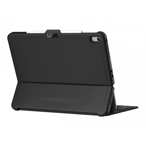 UAG Rugged Case for iPad Pro 12.9 (3rd Gen, 2018) - Scout Black - Flip cover for tablet - black - 12.9&uot; - for Apple 12.9-inch iPad Pro (3rd generation)