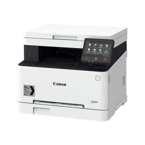 Canon i-SENSYS MF643Cdw - Multifunction printer - colour - laser - A4 (210 x 297 mm), Legal (216 x 356 mm) (original) - A4/Legal (media) - up to 21 ppm (copying) - up to 21 ppm (printing) - 250 sheets - USB 2.0, Gigabit LAN, Wi-Fi(n), USB host