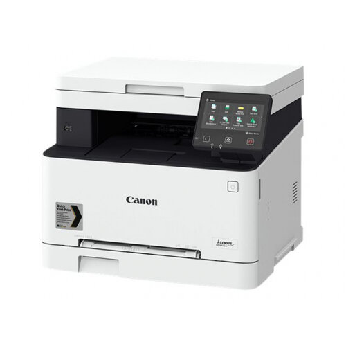 Canon i-SENSYS MF645Cx - Multifunction printer - colour - laser - A4 (210 x 297 mm), Legal (216 x 356 mm) (original) - A4/Legal (media) - up to 21 ppm (copying) - up to 21 ppm (printing) - 250 sheets - 33.6 Kbps - USB 2.0, Gigabit LAN, Wi-Fi(n), USB host