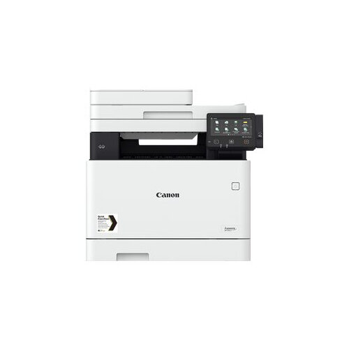 Canon i-SENSYS MF746Cx - Multifunction printer - colour - laser - A4 (210 x 297 mm), Legal (216 x 356 mm) (original) - A4/Legal (media) - up to 27 ppm (copying) - up to 27 ppm (printing) - 300 sheets - 33.6 Kbps - USB 2.0, Gigabit LAN, Wi-Fi(n), USB host,