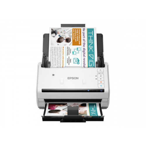 Epson WorkForce DS-570W - Document scanner - A4/Legal - 600 dpi x 600 dpi - up to 35 ppm (mono) / up to 35 ppm (colour) - ADF (50 sheets) - up to 4000 scans per day - USB 3.0, Wi-Fi
