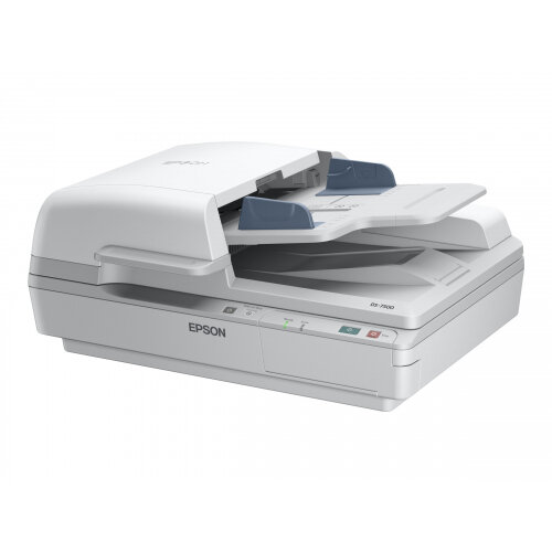 Epson WorkForce DS-6500 - Document scanner - Duplex - A4/Legal - 1200 dpi x 1200 dpi - up to 25 ppm (mono) / up to 25 ppm (colour) - ADF (100 sheets) - up to 3000 scans per day - USB 2.0