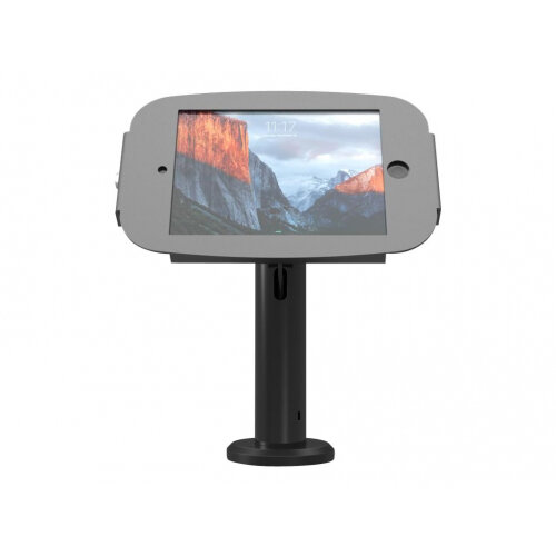Compulocks Space Rise iPad 9.7&uot; Counter Top Kiosk 8&uot; Black - Stand for tablet - black - desktop - for Apple iPad (3rd generation); iPad 2; iPad Air; iPad Air 2; iPad with Retina display